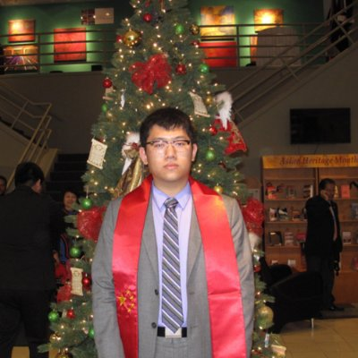 Huang Zhao linkedin profile