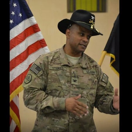 COL Gregory Stokes linkedin profile