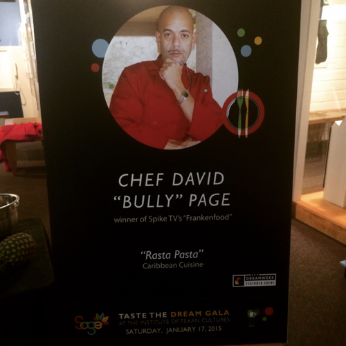 Chef David Page linkedin profile
