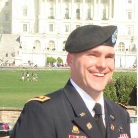 Maj Sean Wilson linkedin profile